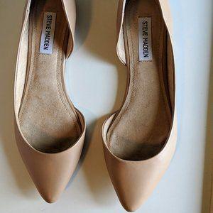 Tan Steve Madden Elusion D'orsay ballet flat